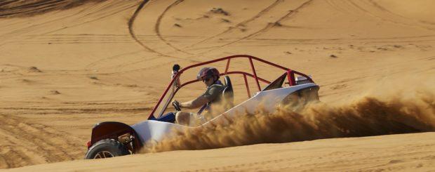 Dune-Buggies-Dubai-drifting