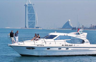 Yacht charters in Dubai Luxury Yacht package