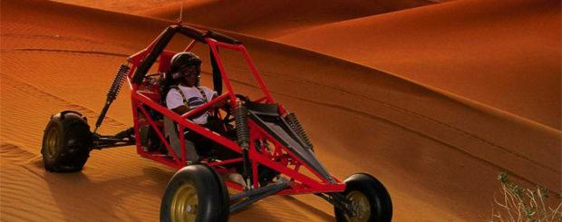 Evening Dune Buggy safari dubai