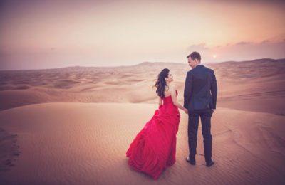 honeymoon in desert safari Dubai
