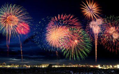 Eid Al Adha fireworks